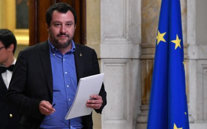 """Consultazioni, Salvini: """"Convinti che nelle prossime ore si partirà"""""""