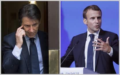 """Telefonata tra Conte e Macron: """"Scambio su politiche Europa"""""""