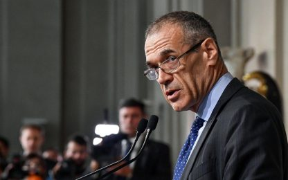 """Incarico a Cottarelli: """"Senza fiducia, alle elezioni dopo agosto"""""""