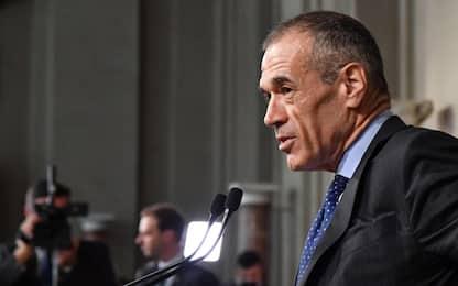 Crisi di governo, Cottarelli: Io premier? Unica soluzione Conte ter