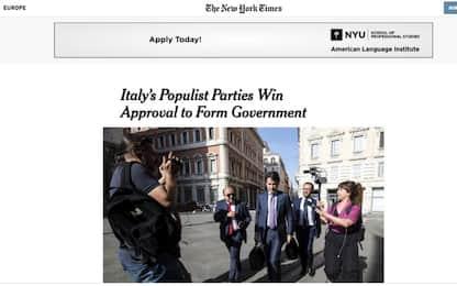 Governo Conte sui giornali stranieri