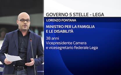 Lorenzo Fontana, chi è il nuovo ministro per Famiglia e Disabilità