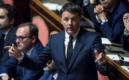 Governo, Renzi a M5s-Lega: siete il potere e non faremo sconti