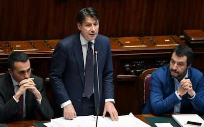 """Governo, Conte alla Camera: """"Tratteremo con l'Ue sul debito"""""""