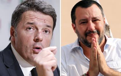 """Migranti, Renzi: """"Salvini bullo"""". La replica: hanno risposto italiani"""