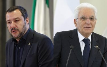 Salvini_mattarella_ansa