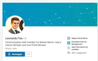 Il figlio di Marcello Foa lavora nello staff comunicazione di Salvini