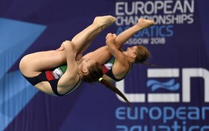 Europei di nuoto, Bertocchi e Pellacani vincono l'oro nei tuffi