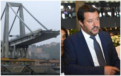 Salvini: ho votato salva-Benetton ma chi non ha vigilato taccia