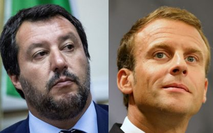 Migranti, Macron attacca l'Italia: sbarco avvenga nel porto più vicino