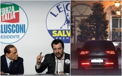 Vertice Berlusconi-Salvini: verso l'intesa su Rai, Regionali e tv