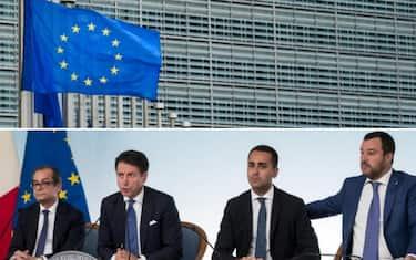 collage_ue_commissione_tria_conte_di_maio_salvini