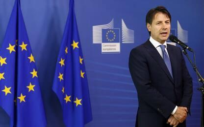 """Conte al Consiglio europeo: """"Non c'è margine per cambiare la manovra"""""""