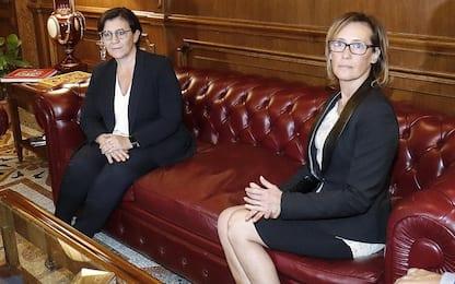 """Trenta incontra Ilaria Cucchi: """"In tanti dobbiamo chiedere scusa"""""""