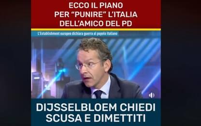 M5s e l'intervista manipolata a Dijsselbloem: i due video a confronto