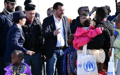 Migranti, in 51 arrivati dal Niger con corridoio umanitario