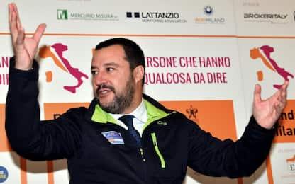 """Manovra, Salvini: se non mi fanno """"saltare"""" io vado fino in fondo"""