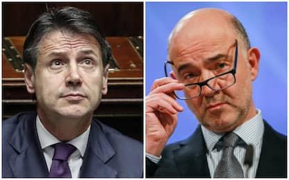 Manovra, Moscovici avvisa l'Italia: riduzione deficit non sufficiente