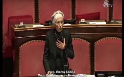 """Manovra, Bonino: """"Parlamento umiliato. Nessun senso delle istituzioni"""""""