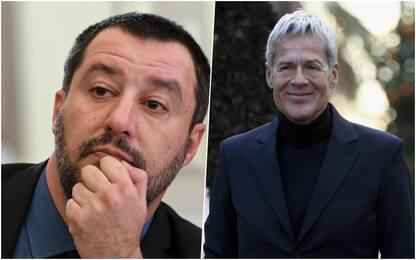 """Migranti, Salvini: """"Baglioni lo preferisco quando canta"""""""