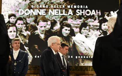 """Giorno della Memoria, Mattarella: """"Shoah virus pronto a risvegliarsi"""""""