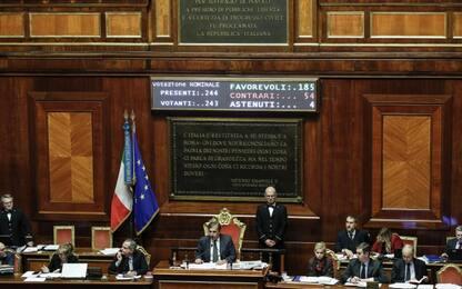 Taglio del numero di parlamentari, primo via libera dal Senato