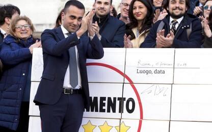 """Elezioni Abruzzo, Di Maio: """"Salvini ha scelto Berlusconi e il passato"""""""