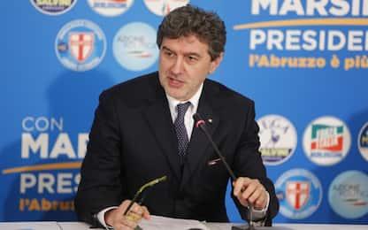 """Elezioni Abruzzo, Marsilio esulta: """"Ricostruzione è priorità"""""""