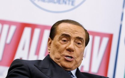 """Berlusconi attacca il M5s: """"Italiani siete una vergogna, svegliatevi"""""""