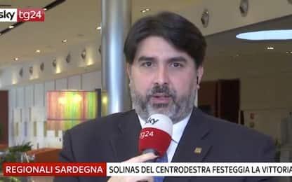 """Sardegna, Solinas a Sky Tg24: """"Premiato nostro modo di fare politica"""""""