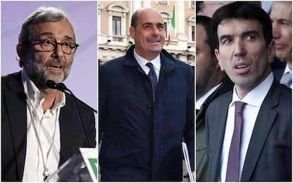 Primarie Pd, gli appelli dei tre candidati