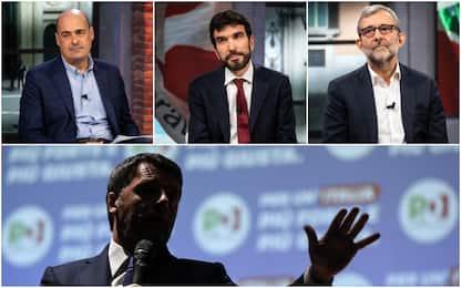 """Primarie Pd, """"Quanto vi manca Renzi?"""", le risposte dei candidati"""