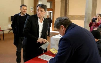 """Pd, Renzi su Zingaretti: """"Vittoria bella. Basta col fuoco amico"""""""