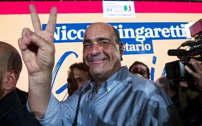 """Primarie Pd, Zingaretti è il nuovo segretario: """"Sarò leader, non capo"""""""