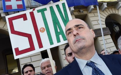 "Tav, Zingaretti: ""Criminale interrompere i bandi"""