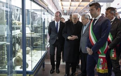 """Mattarella: """"Siamo sull'orlo di una crisi climatica globale"""""""