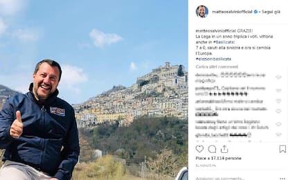 Elezioni Basilicata, vince Bardi. Salvini: 7 a 0, saluti alla sinistra