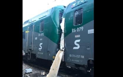 Inverigo, scontro tra treni nel Comasco: 7 feriti, 50 contusi