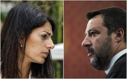 "Roma, Raggi: ""Se Salvini è Batman chiamatemi Wonder Woman"""