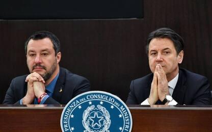 """Lega-Russia, Salvini: """"Parole di Conte mi interessano meno di zero"""""""
