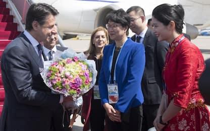 Via della Seta, Conte a Pechino: attenti a iniziative predatorie su 5G