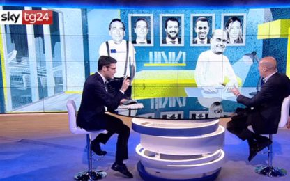 "Tribù, Zingaretti a Sky Tg24: ""In Erasmus andrei con Sala"". VIDEO"