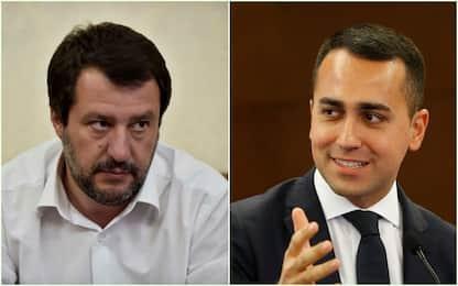"""Di Maio: """"Basta estremismi"""", Salvini: """"M5S non sbandi a sinistra"""""""