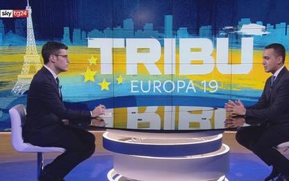 """Europee, Di Maio a Sky Tg 24: """"Su tangenti coinvolti tutti tranne noi"""""""