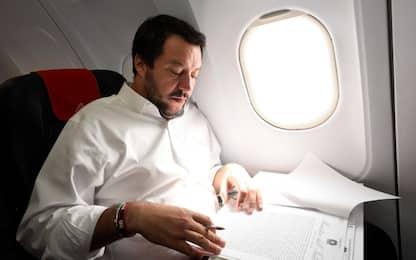 """Voli di Stato, M5s: """"Salvini spieghi"""". Viminale: nessuna irregolarità"""