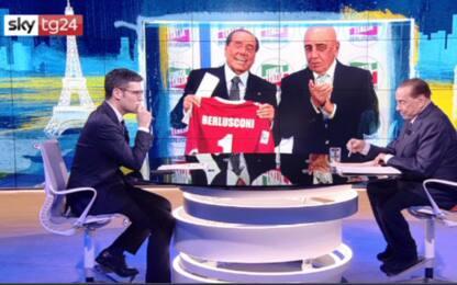 """Berlusconi: """"Allegri al Monza? Non credo..."""". VIDEO"""