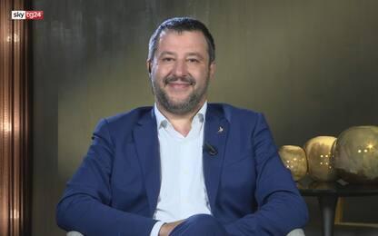 """Salvini a Sky Tg24: """"Non sto in un governo che aumenta l'Iva"""""""