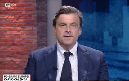 Europee, Calenda a Tribù: per Pd decoroso il 25%. VIDEO