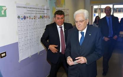 Elezioni europee, i politici italiani al voto. FOTO