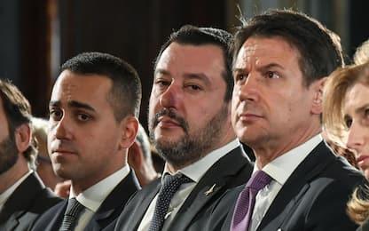"""Conte vede Salvini e Di Maio: """"Ripartire con chiarezza"""""""
